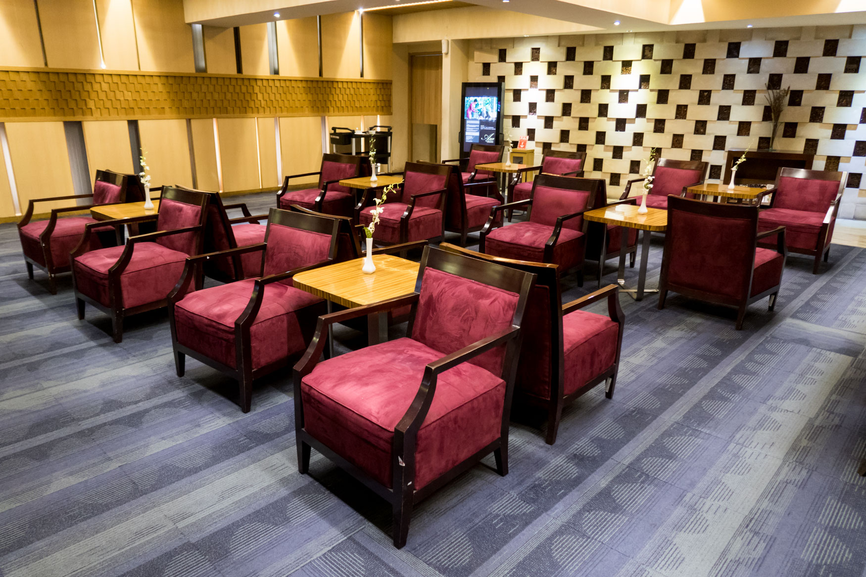 Premier Lounge Jakarta Seating
