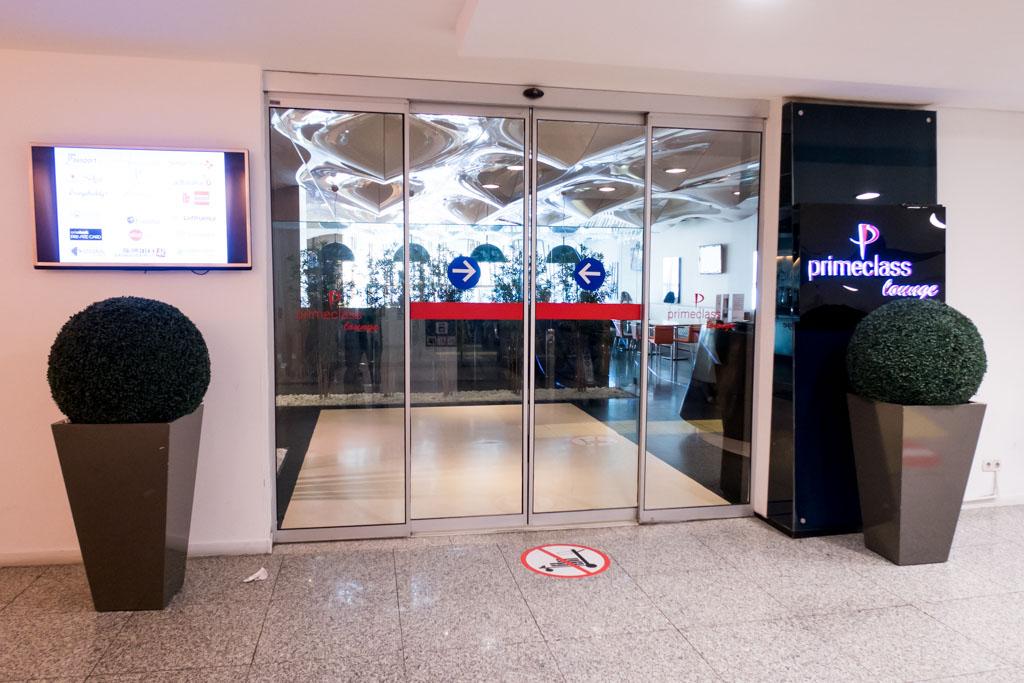 Primeclass CIP Lounge Entrance