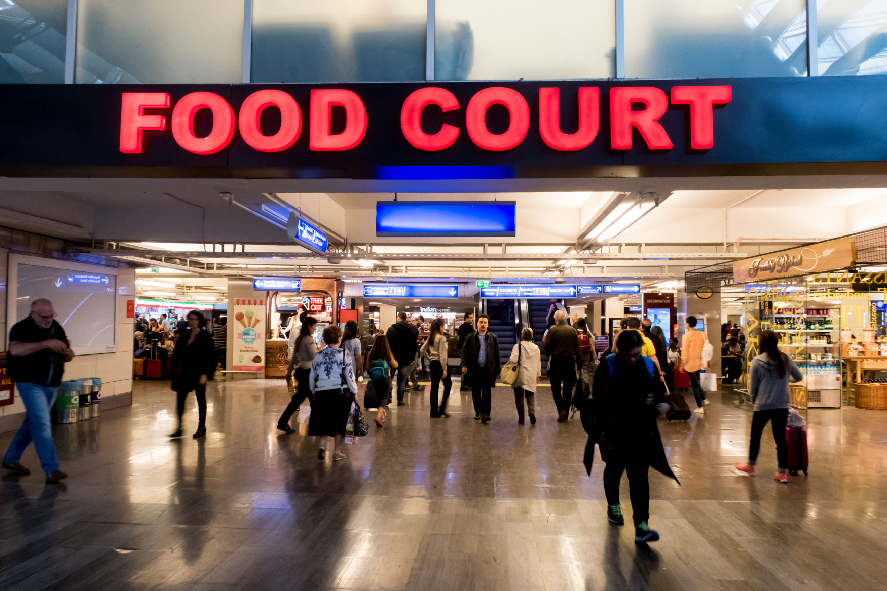 Istanbul Airport Food Court