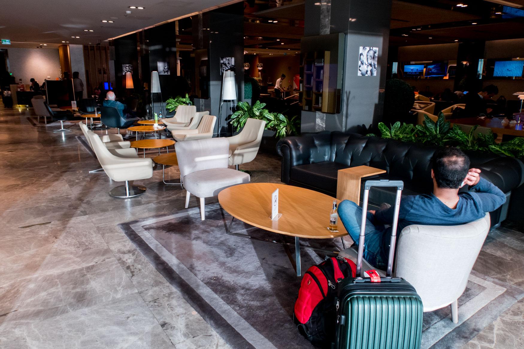 Primeclass CIP Lounge Bar
