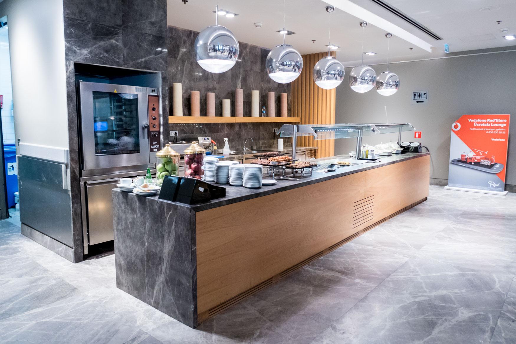Primeclass CIP Lounge Buffet