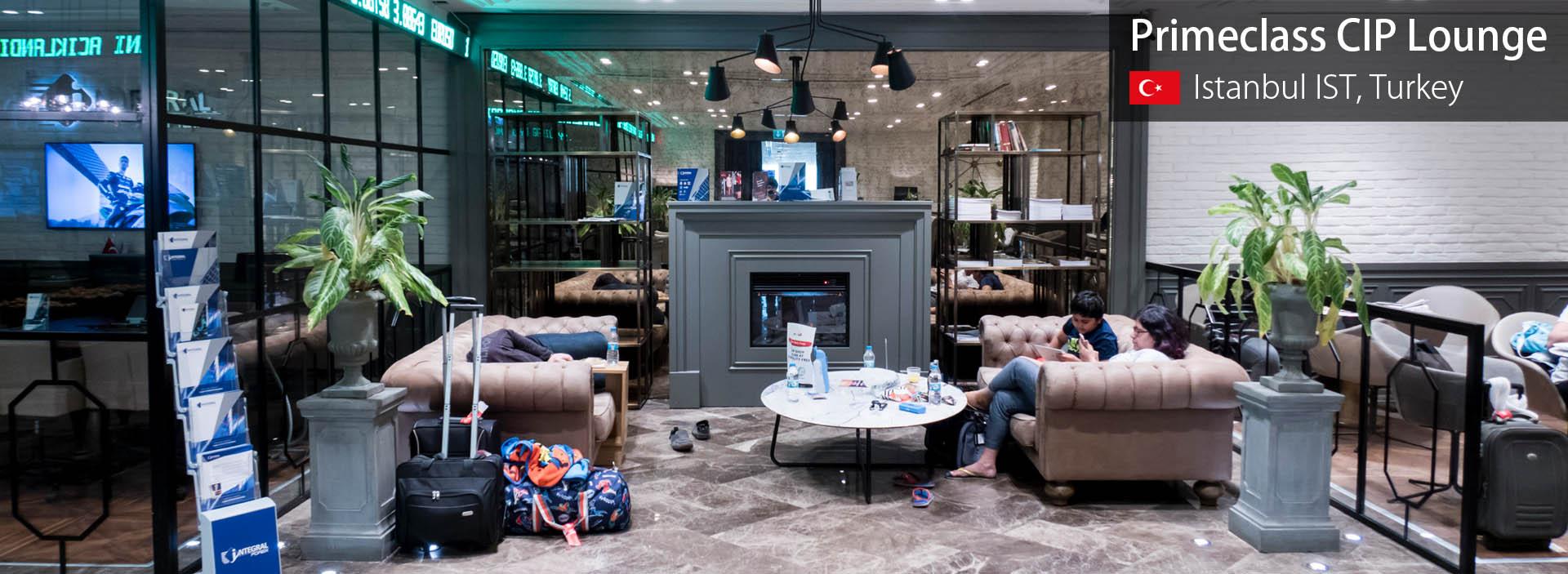 Lounge Review: Primeclass CIP Lounge at Istanbul Ataturk