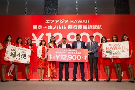 AirAsia X Hawaii Launch
