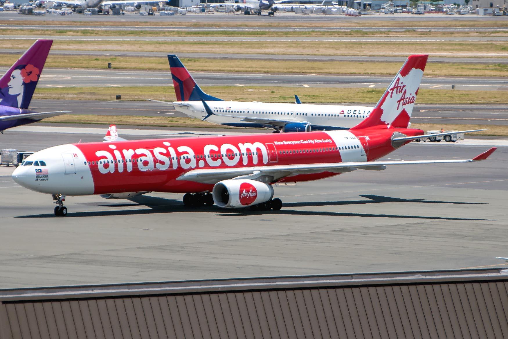 AirAsia X Arrival at Gate