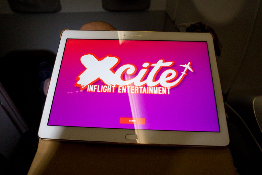 AirAsia X Xcite Inflight Entertainment