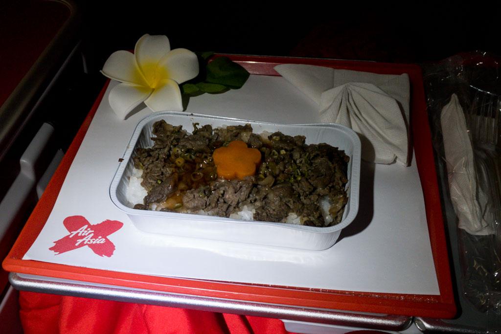 AirAsia X Gyudon