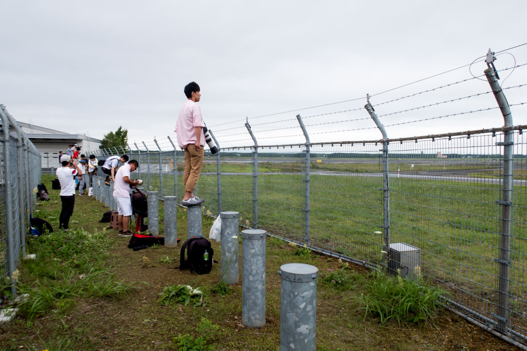 Chitose Air Base Spotting Location
