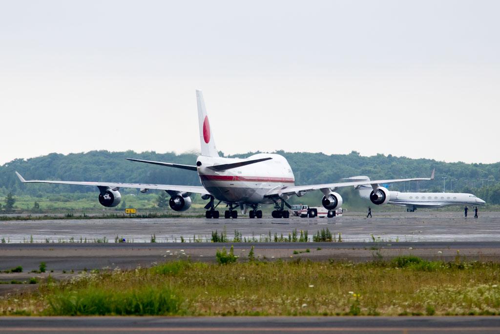 JASDF 747 Push Back