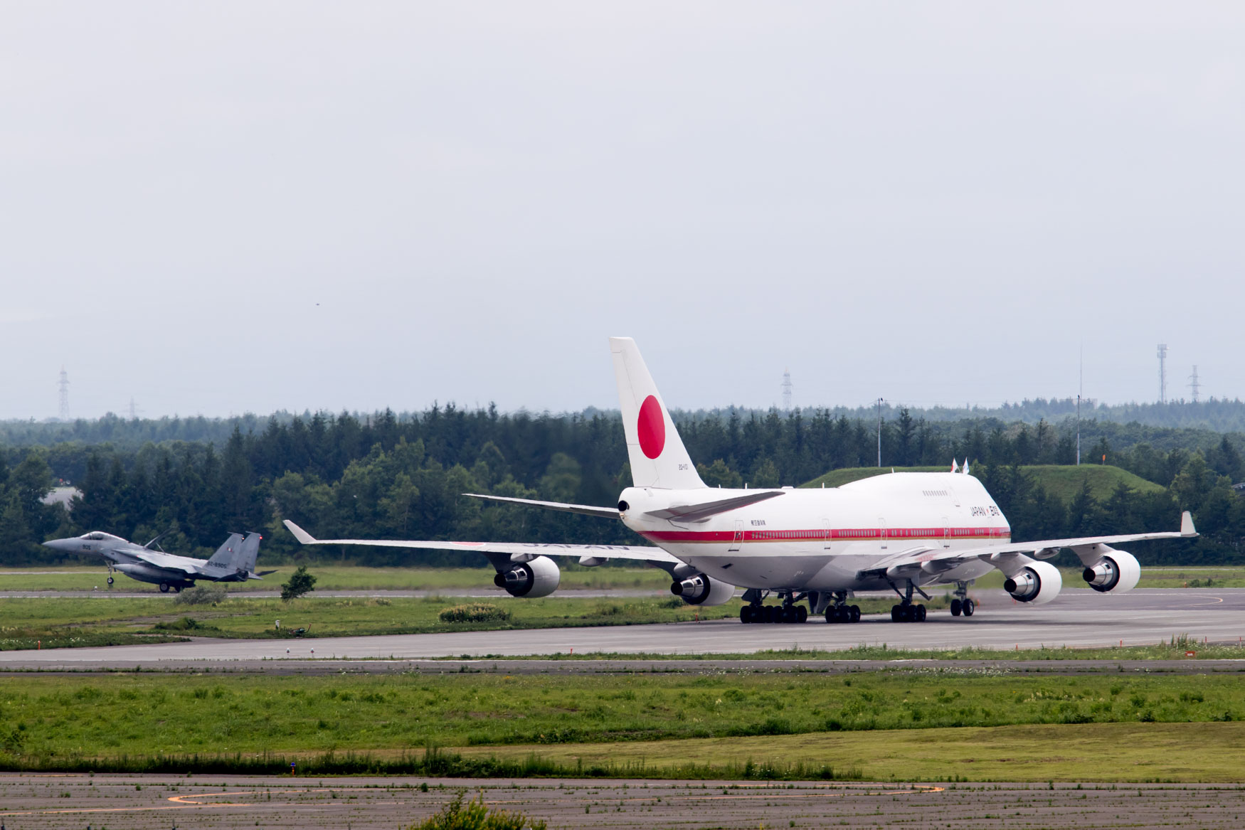 Japan Air Self Defense Force 747 at Chitose Air Festival