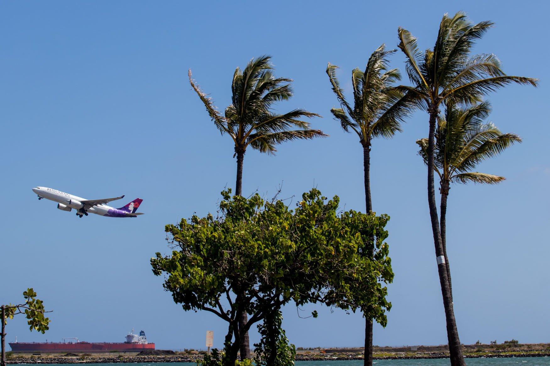 Hawaiian Airlines Honolulu Spotting