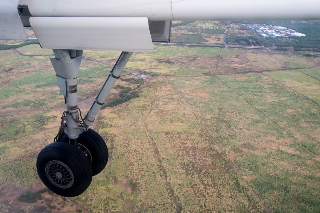 Landing Gera Down