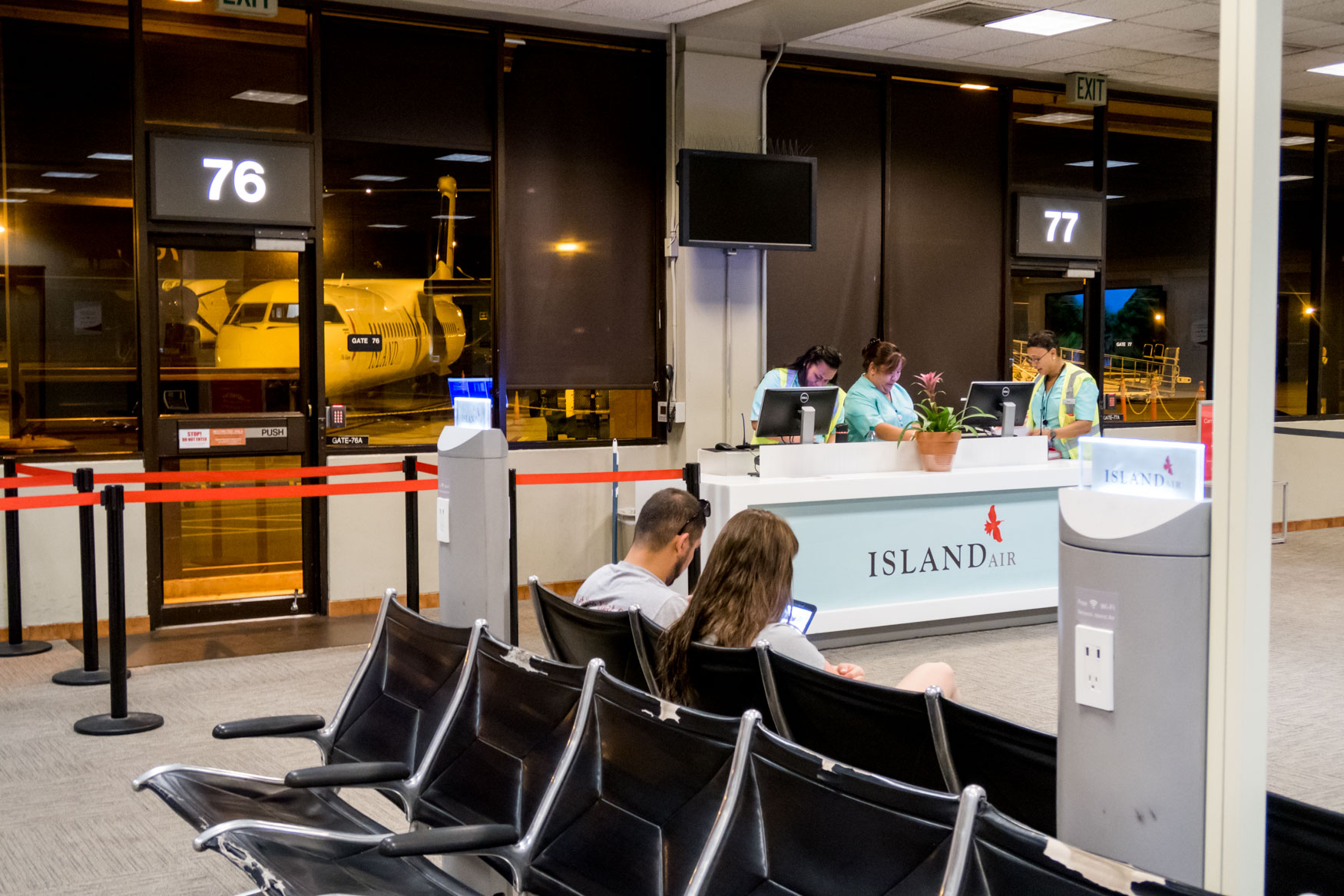Island Air Boarding Gate