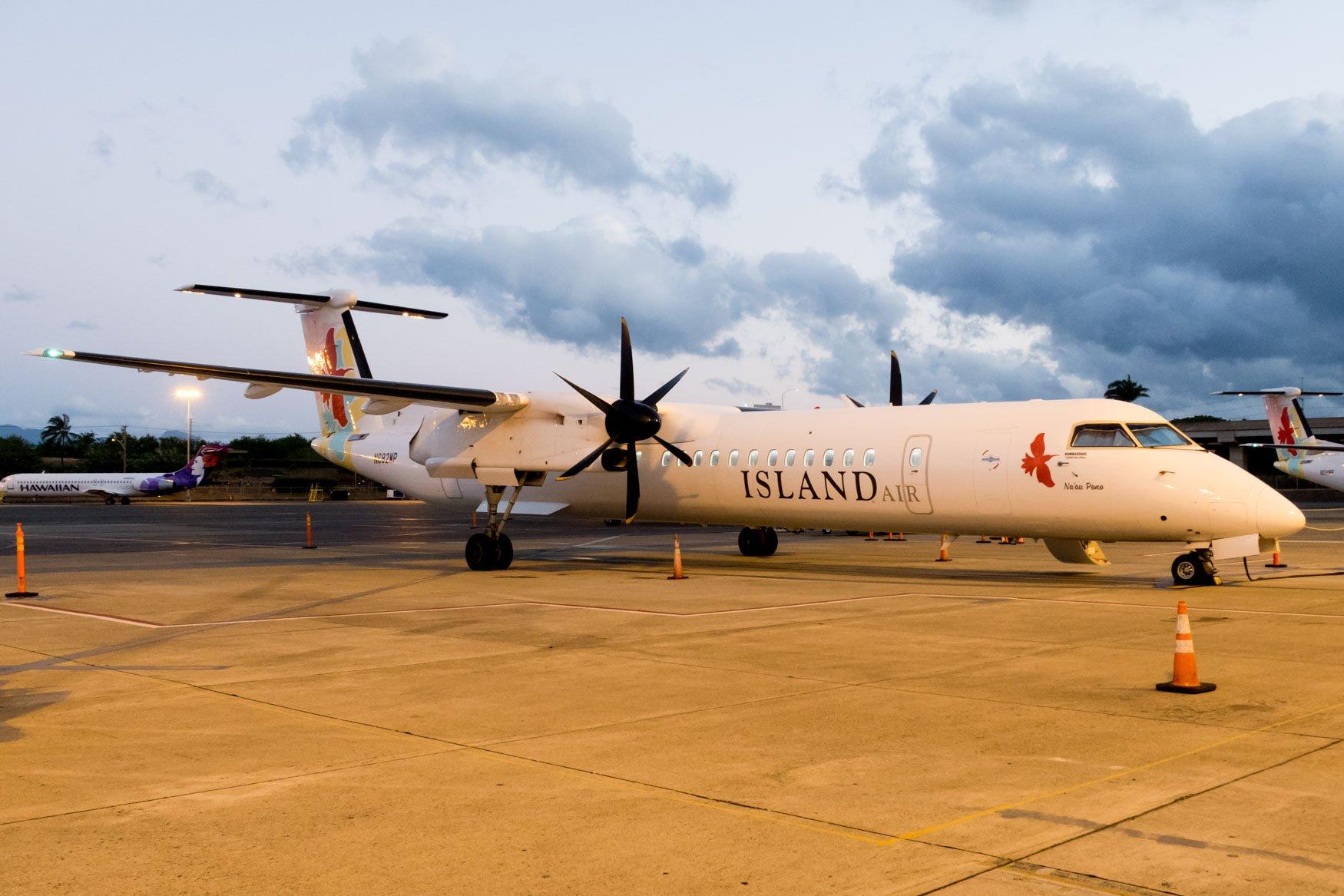 Island Air Bombardier Dash 8 Q400