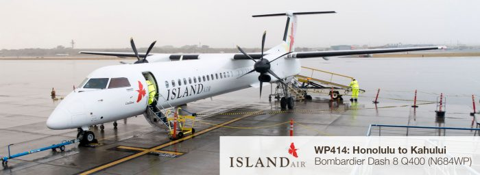 Flight Report: Island Air Dash 8 Q400 from Honolulu to Kahului