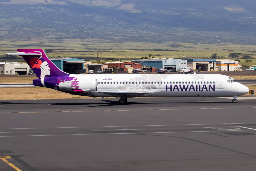 Hawaiian Airlines Boeing 717-200 New Livery