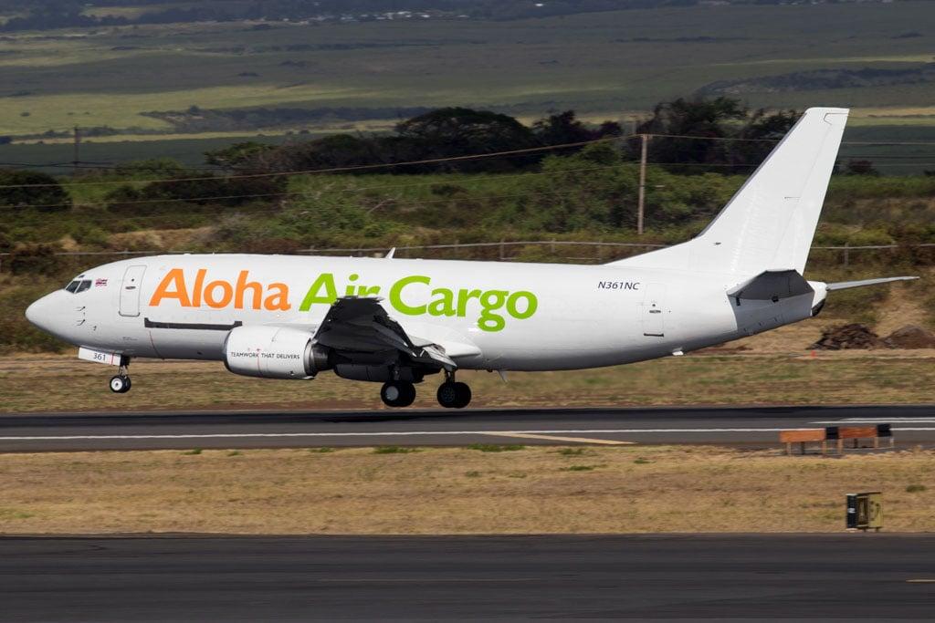 Aloha Air Cargo 737
