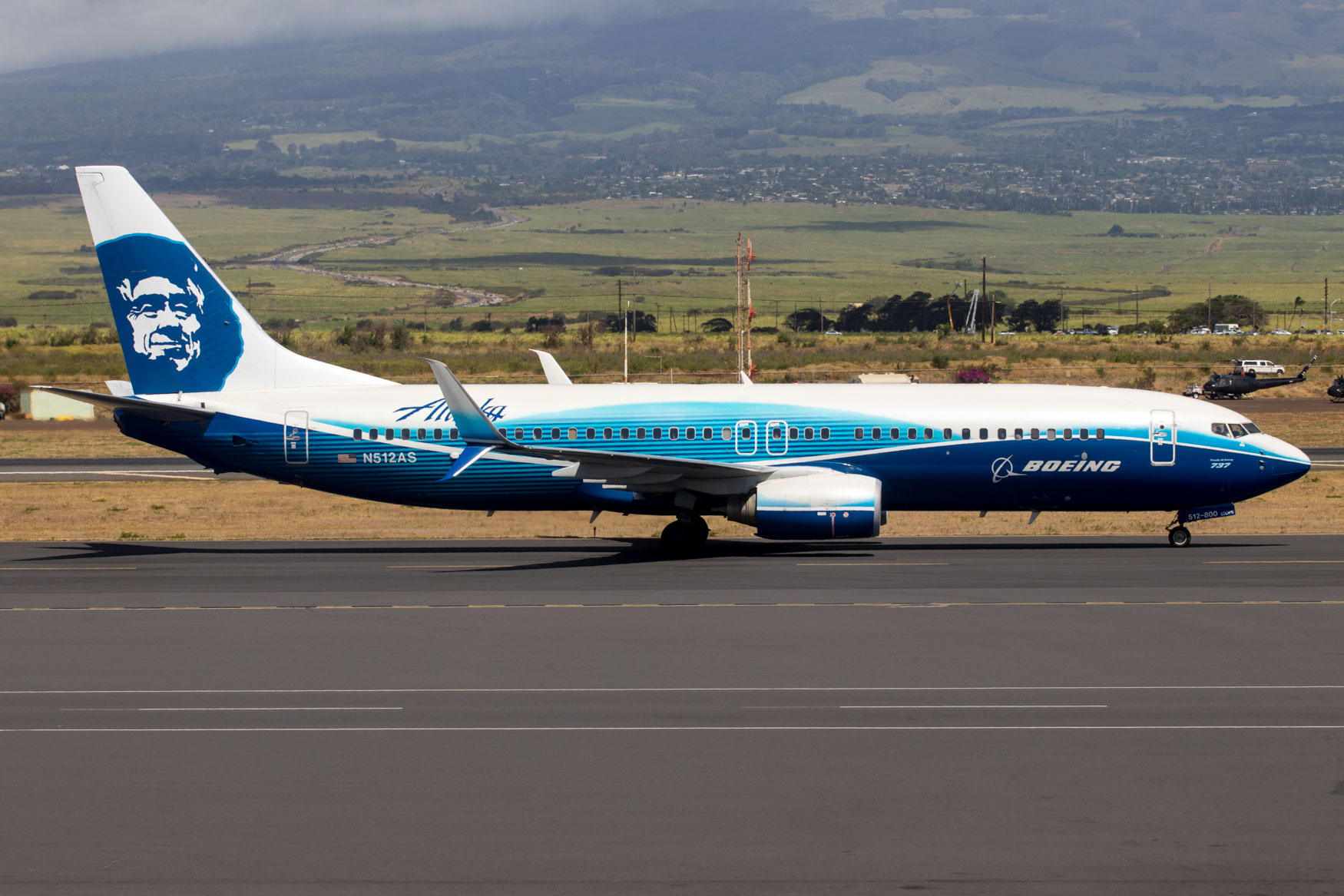 Alaska Airlines 737-800 Boeing Livery