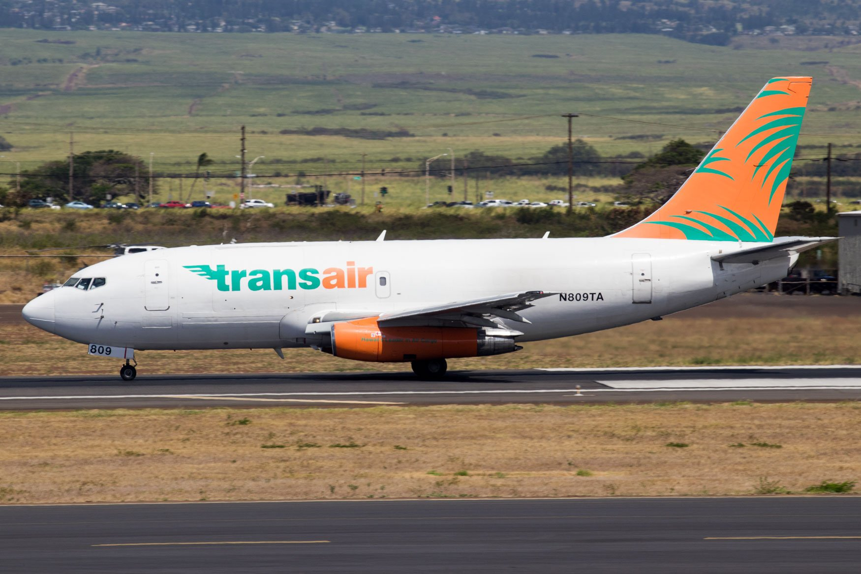 Transair Boeing 737-200