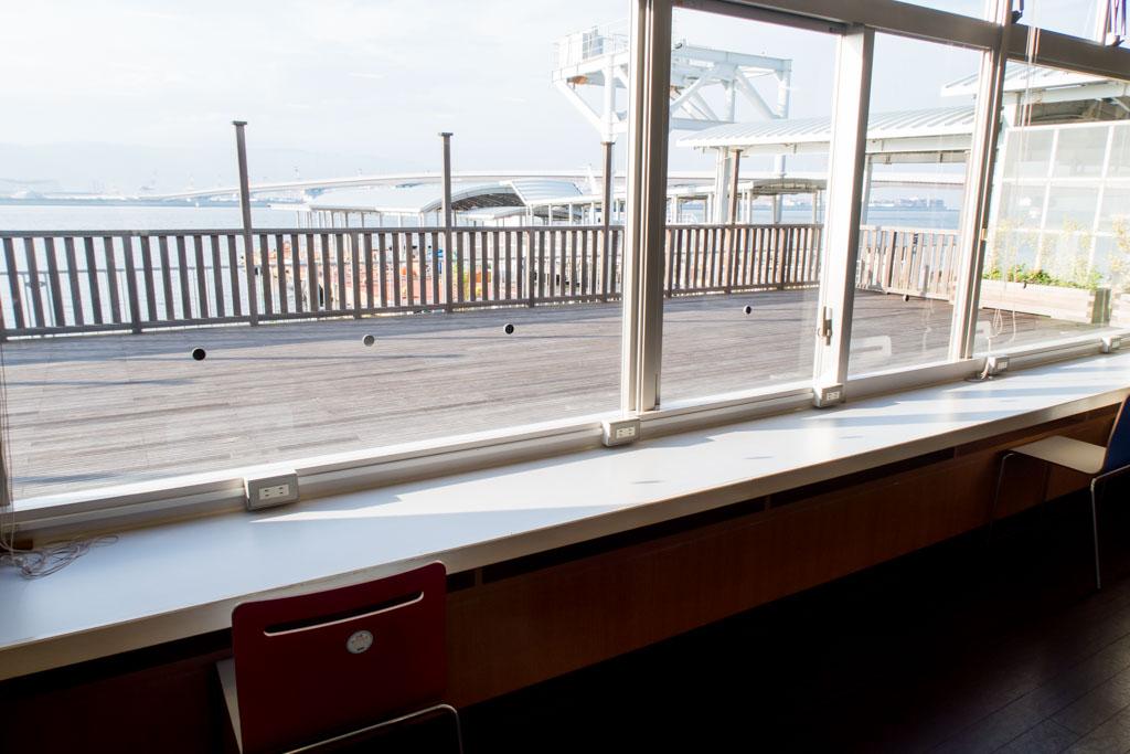 Kobe-Kansai Bay Shuttle Ferry Terminal Seating