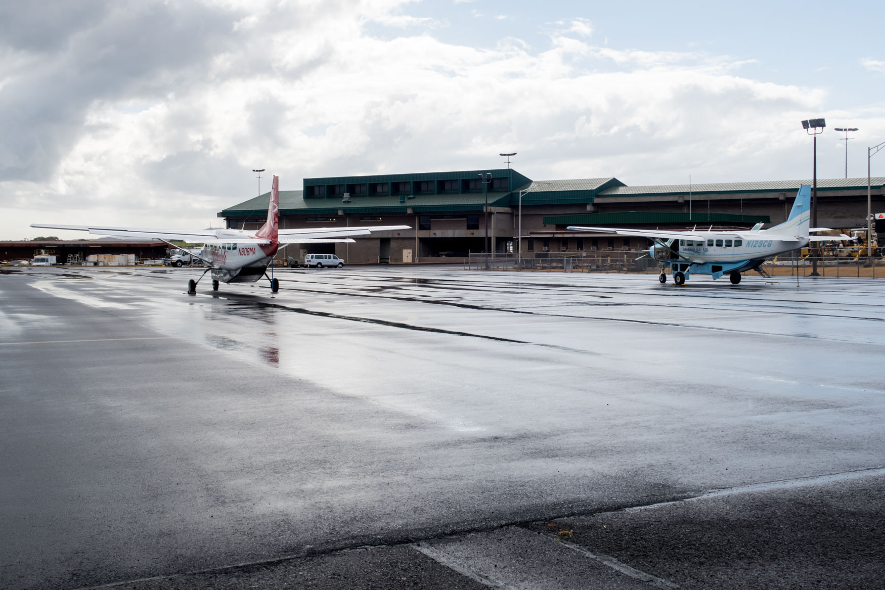 Kahului Airport Commuter Apron