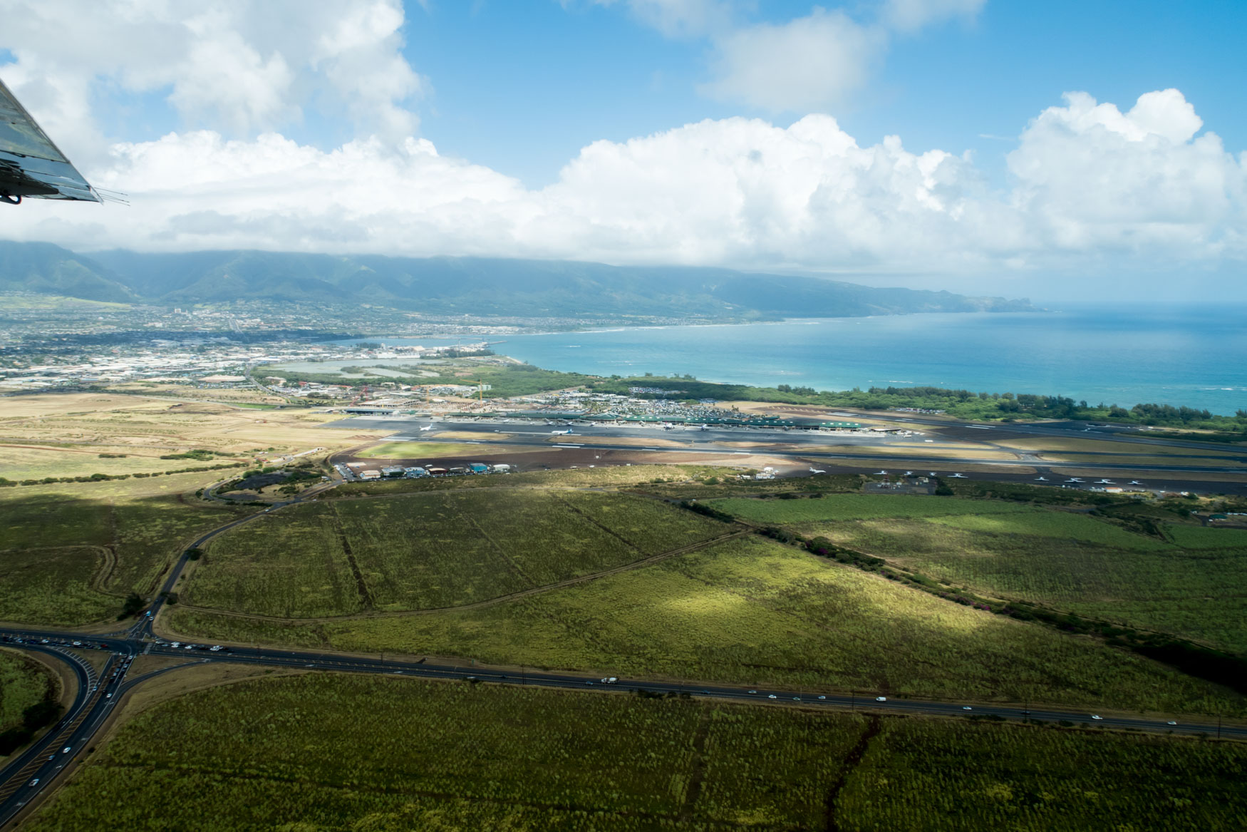 Kahului Airport After Take-Off