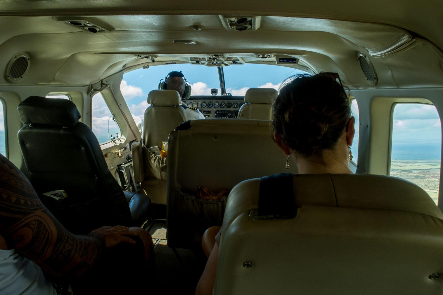 Makani Kai Air Cessna Grand Caravan Cabin