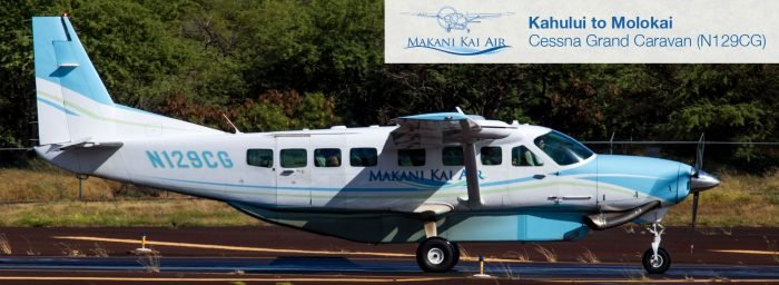 Flight Report: Makani Kai Air Grand Caravan from Kahului to Molokai
