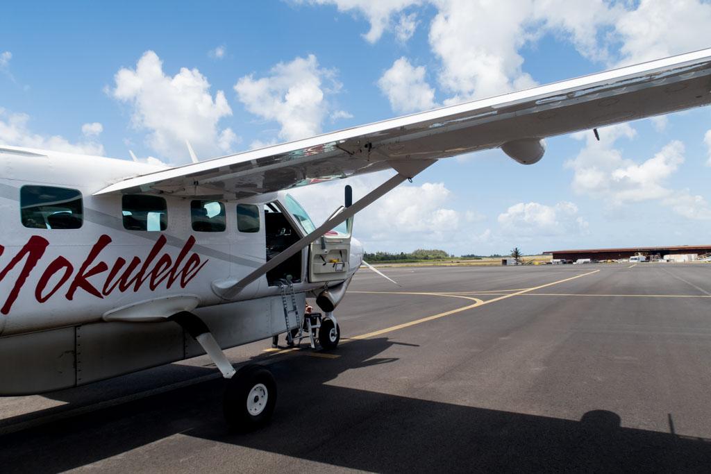 Mokulele Airlines Cessna Grand Caravan at Kahului Airport