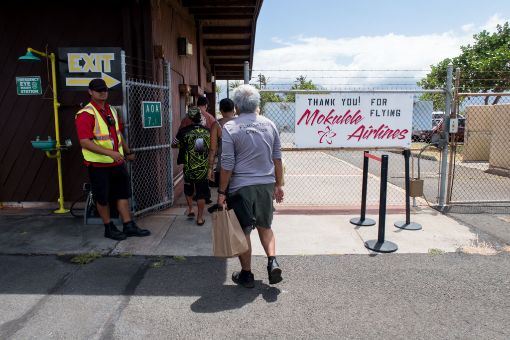 Thank You for Flying Mokulele Airlines