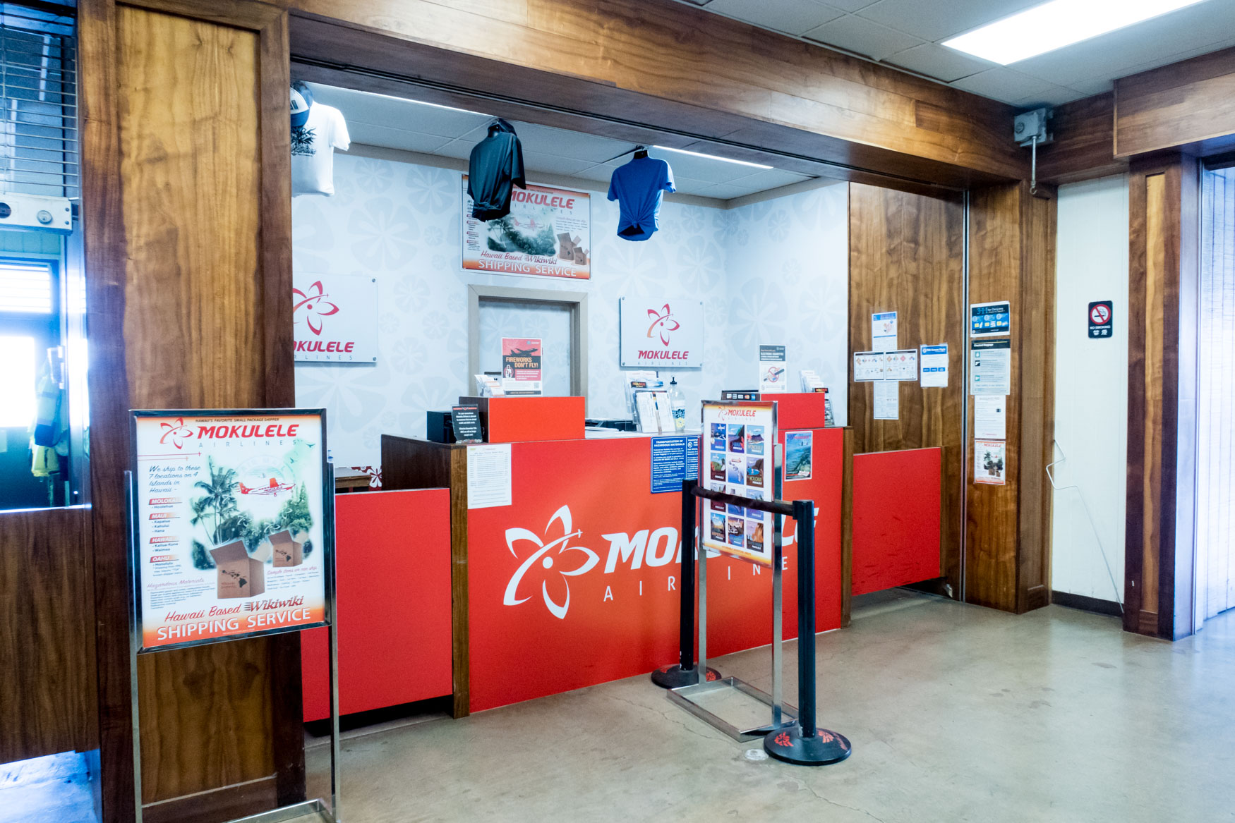 Mokulele Airlines Check-In Counter