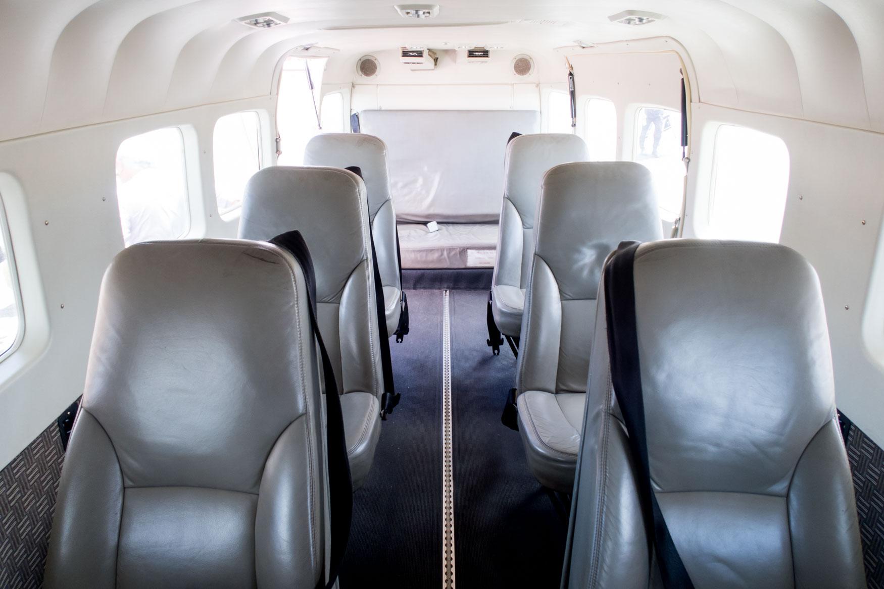 Mokulele Airlines Cessna Grand Caravan Cabin