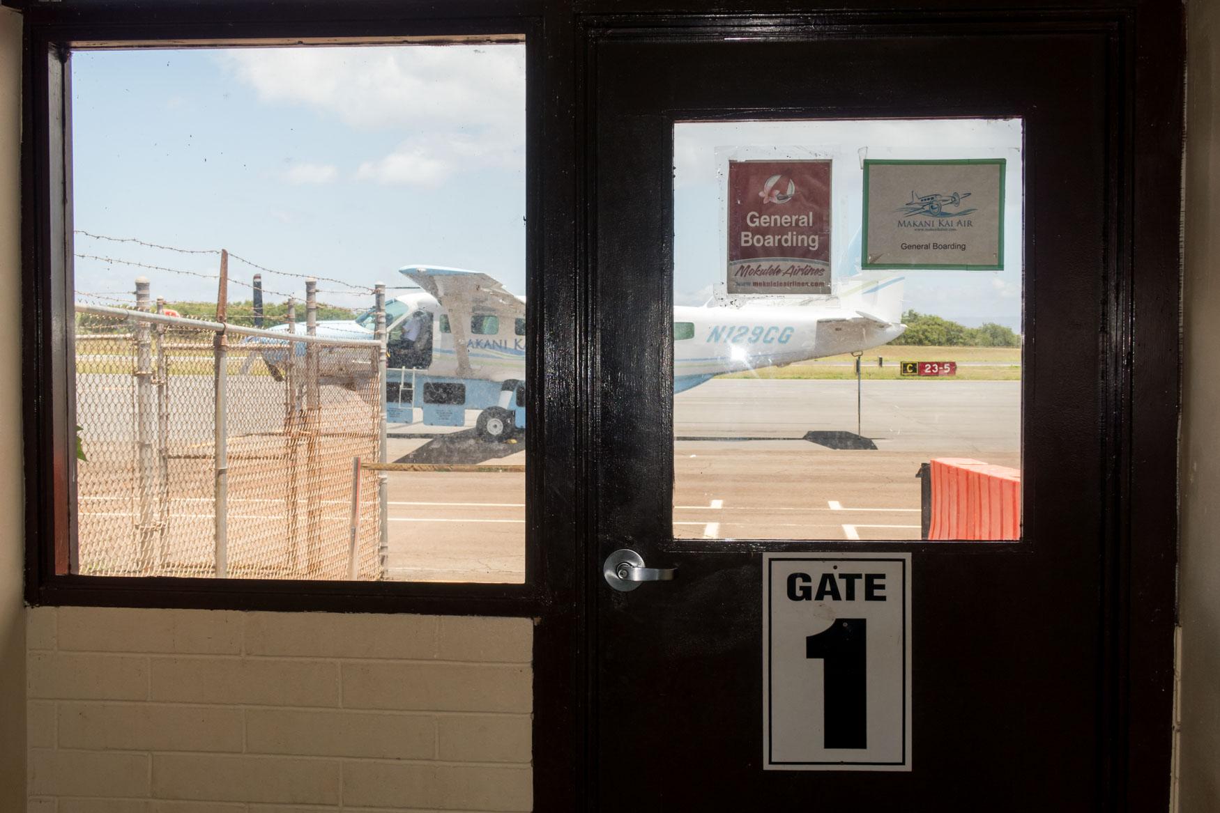 Molokai Airport Gate 1