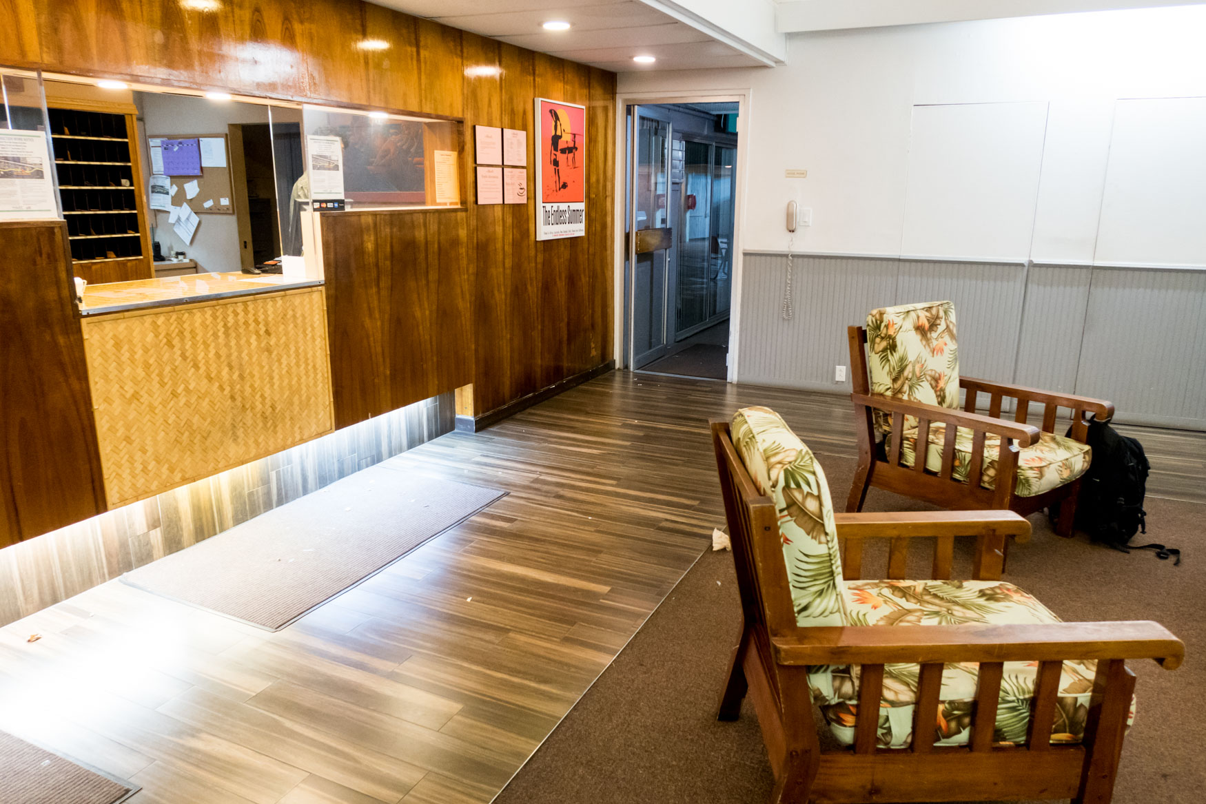 Pacific Marina Inn Reception