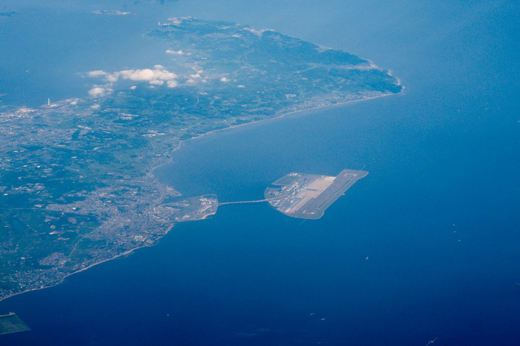 Nagoya Centrair Airport from the Air