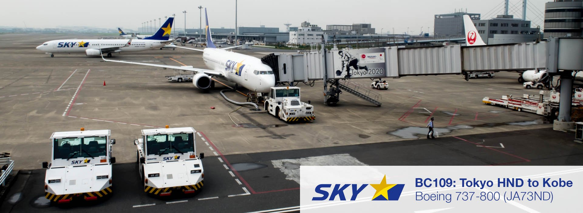Flight Report: Skymark Airlines 737-800 from Tokyo HND to Kobe