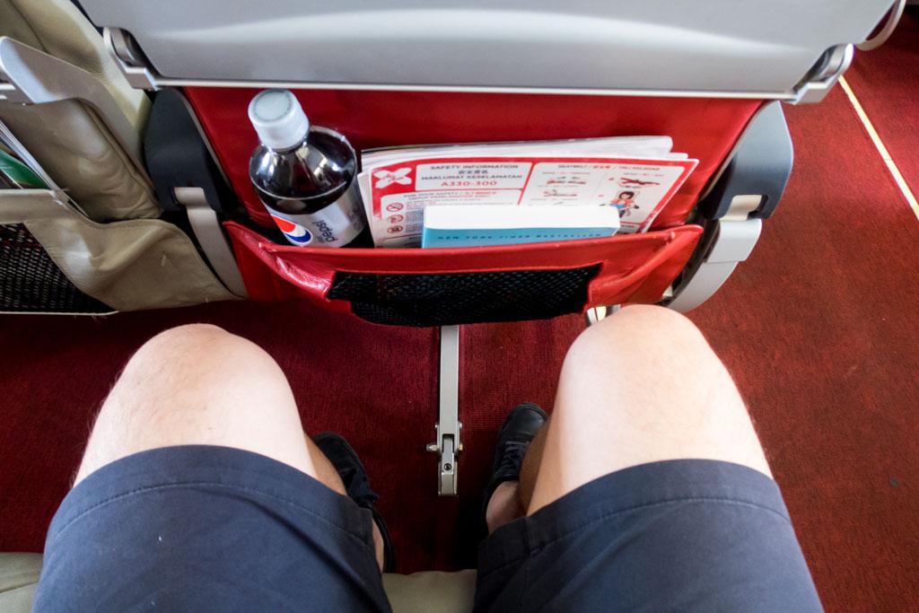 AirAsia X A330 Legroom