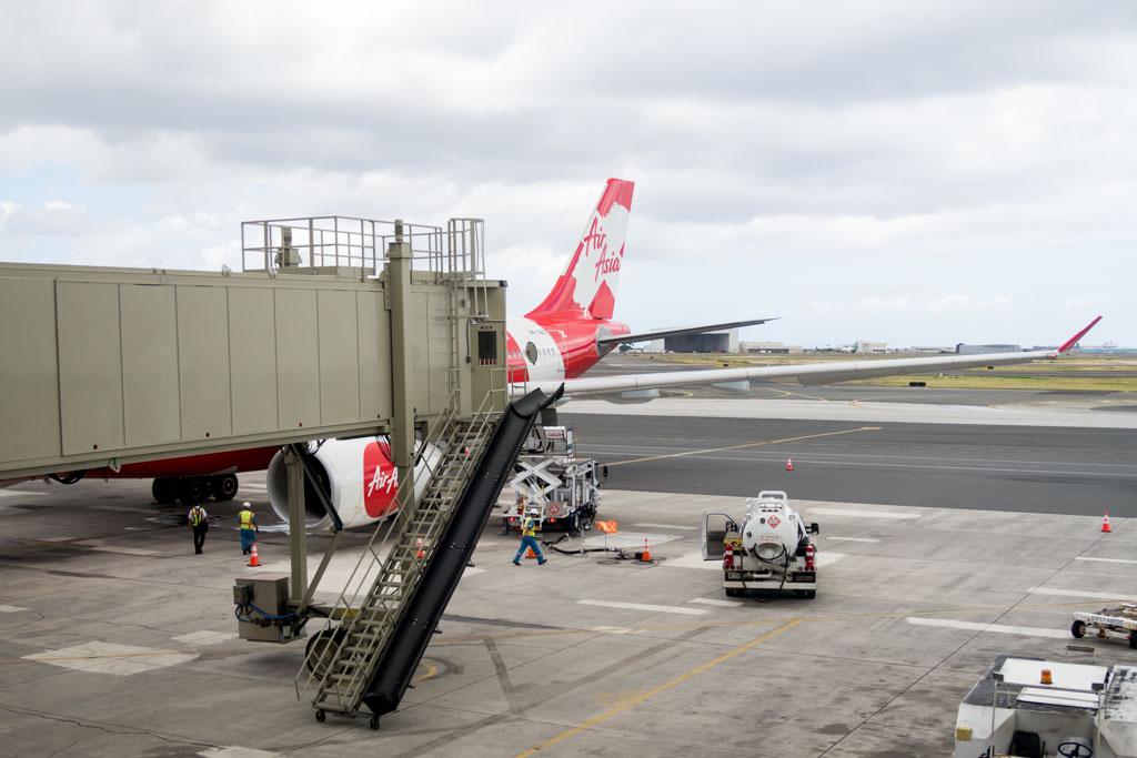 AirAsia X A330-300 at Honolulu Airport