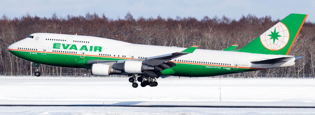 The Last EVA Air 747-400 Passenger Flight to Take Place on August 21, 2017