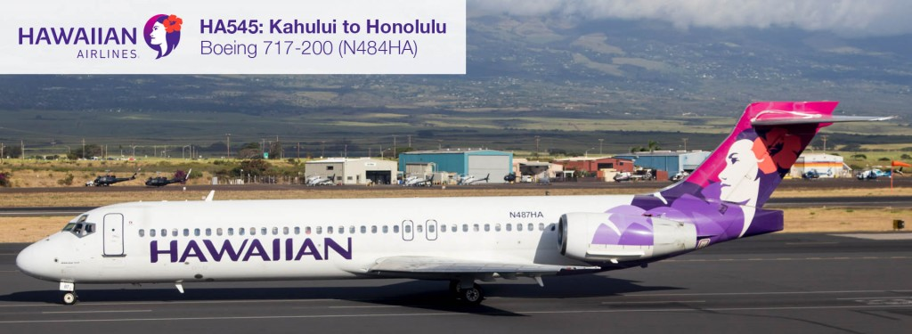 Flight Report: Hawaiian Airlines 717-200 from Kahului to Honolulu