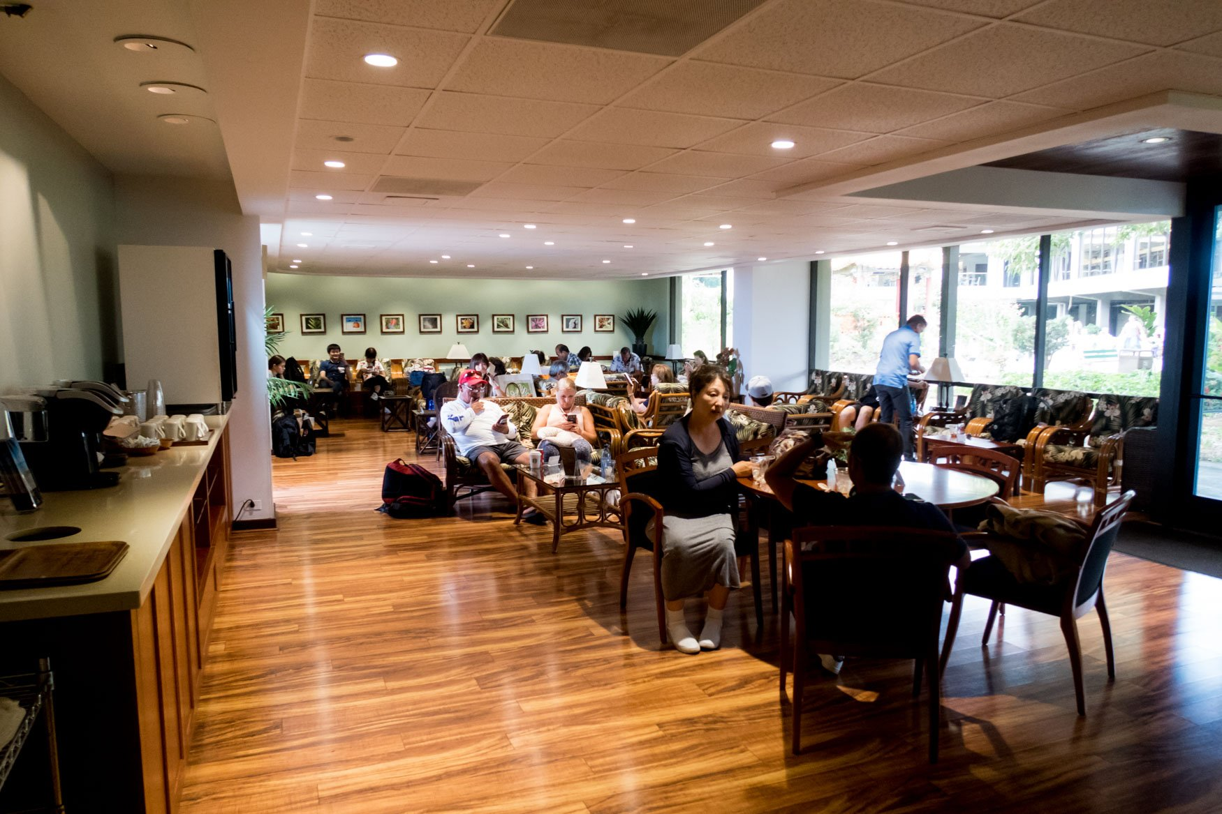 IASS Hawaii Lounge Overview