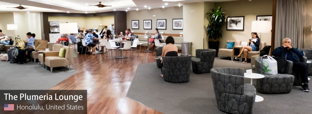 Lounge Review: Hawaiian Airlines Plumeria Lounge at Honolulu