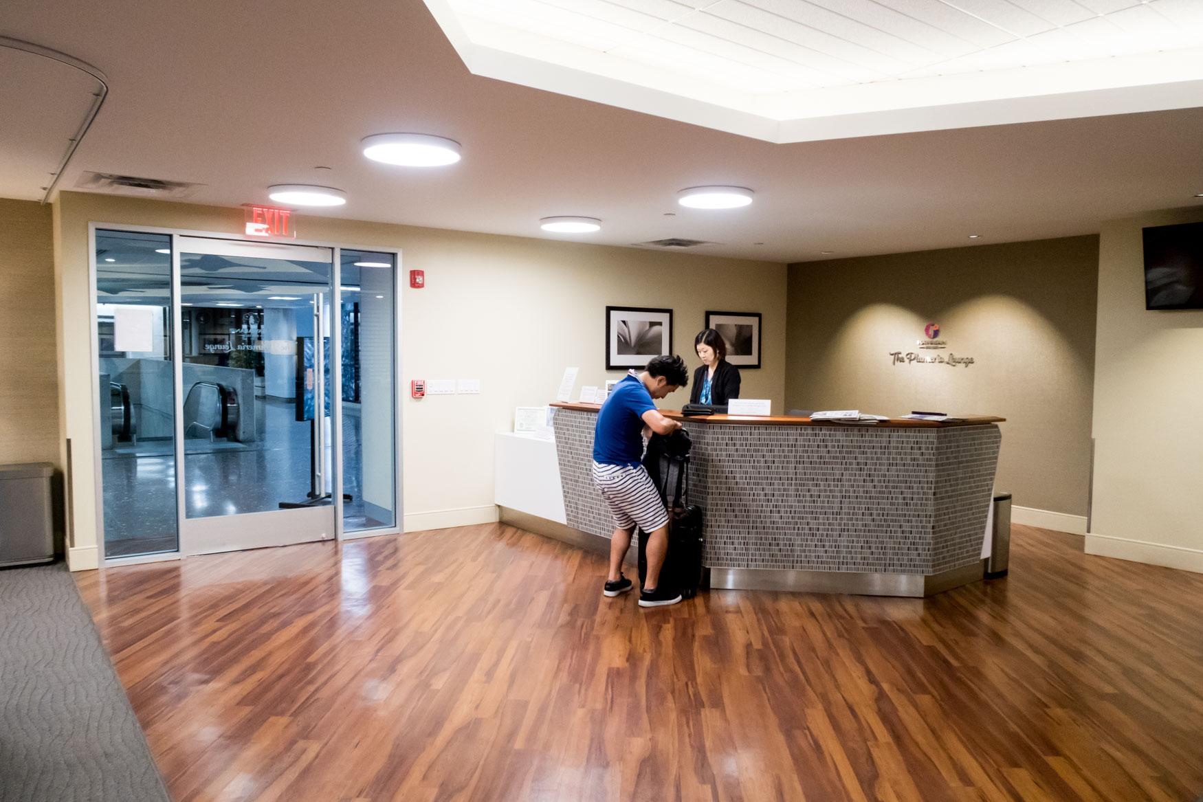 The Plumeria Lounge Reception