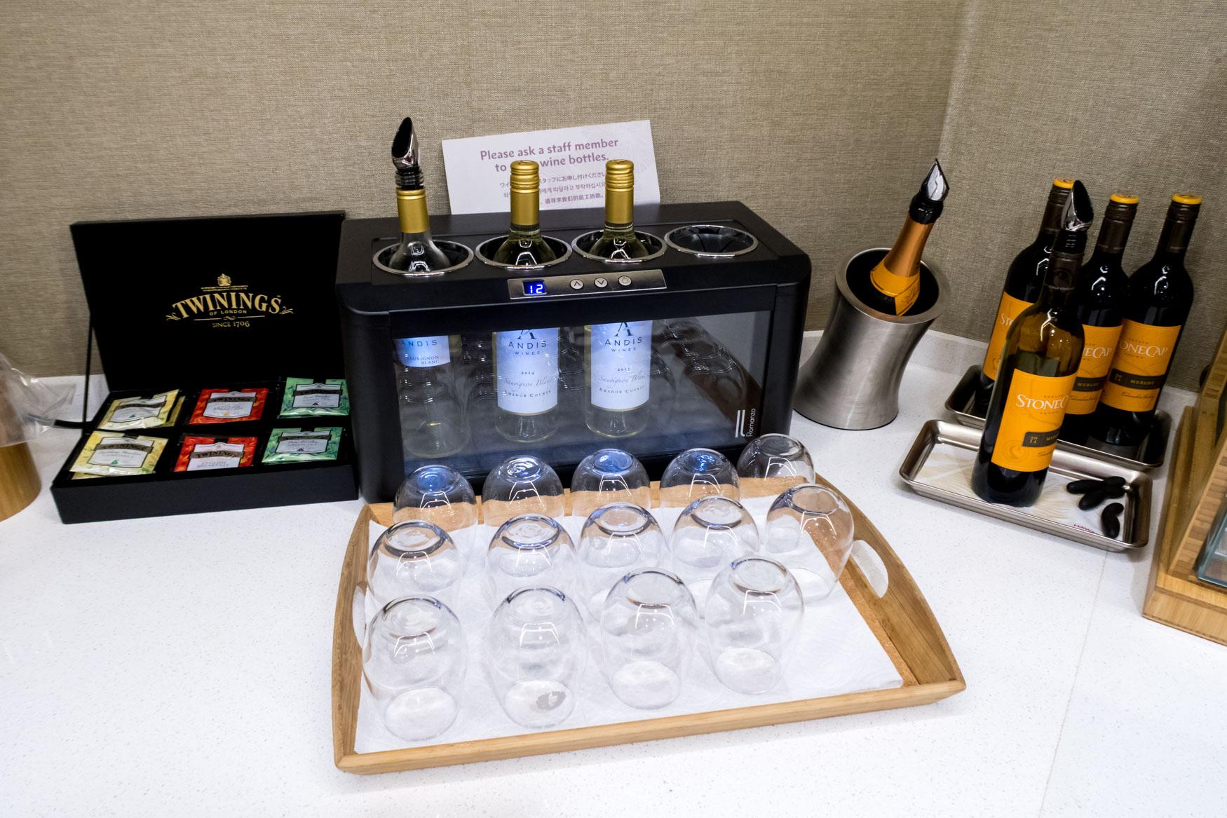 The Plumeria Lounge Wine