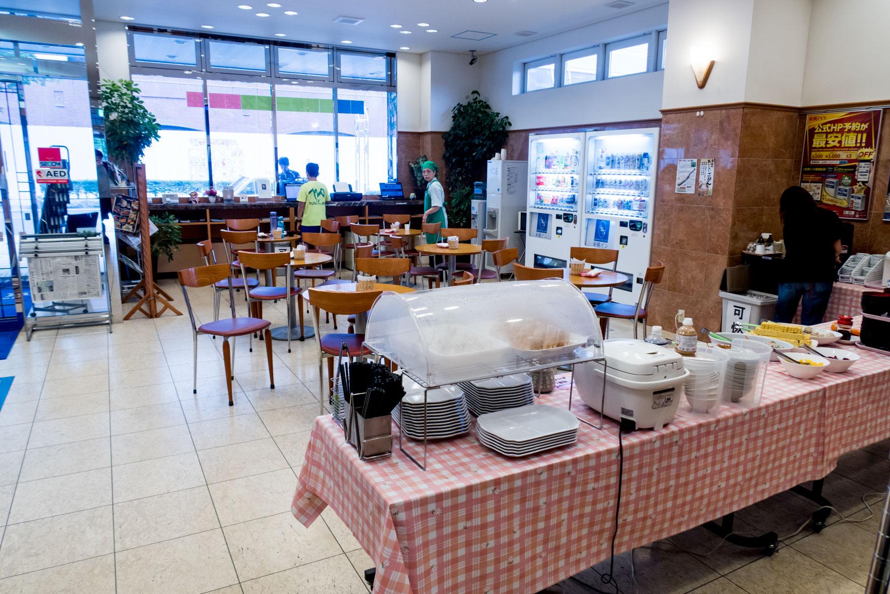 Toyoko Inn Tomakomai Breakfast Area