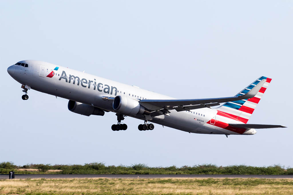 American Airlines 767 Philadelphia to Budapest and Prague