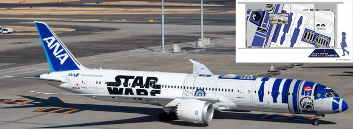 "ANA Opened ""Star Wars ANA Kids Lounge"" Inside Its Tokyo Haneda Lounge"