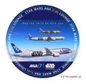 ANA Star Wars Sticker