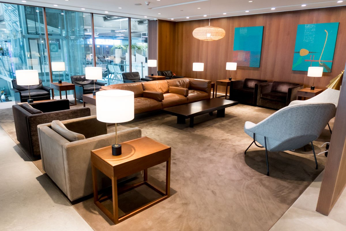 Cathay Pacific First and Business Class Lounge Bangkok