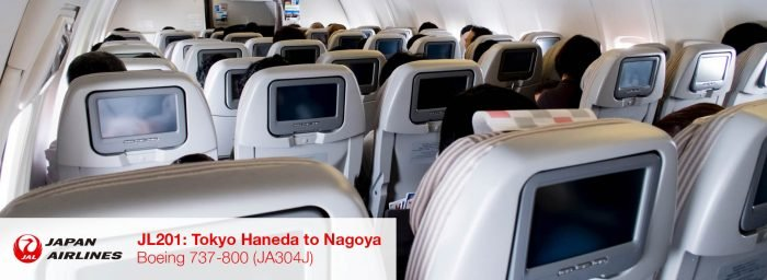 Flight Review: JAL 737-800 Economy Class from Tokyo Haneda to Nagoya