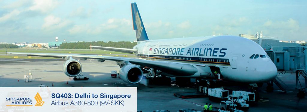 Flight Review: Singapore Airlines A380-800 Premium Economy Class from Delhi to Singapore